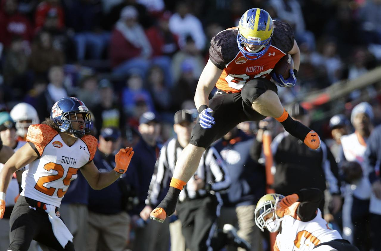 Abdullah leads North to 34-13 win over South in Senior Bowl