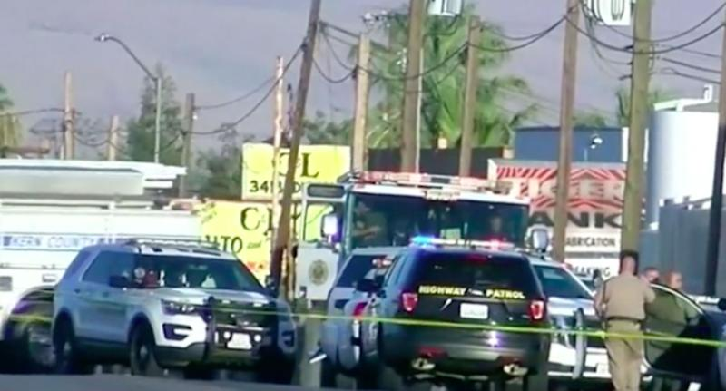 Gunman shoots wife, four men dead in California
