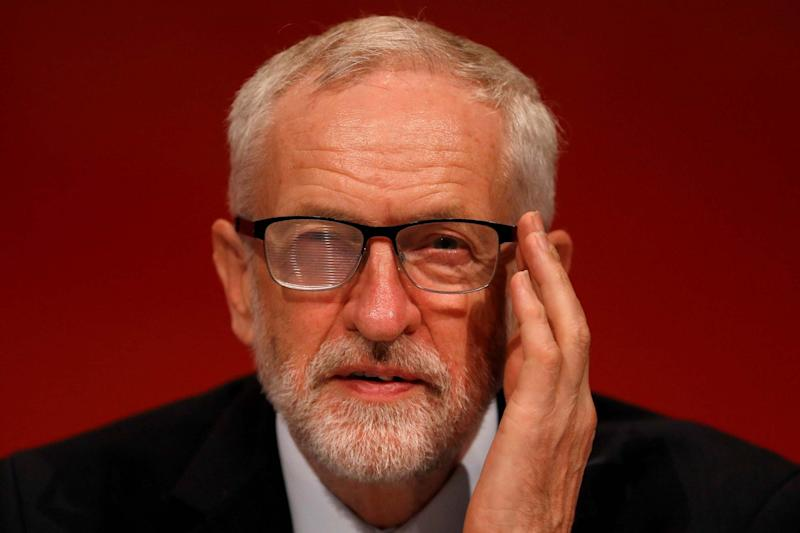 Labour leader Jeremy Corbyn under fire over the party's Brexit policy: REUTERS