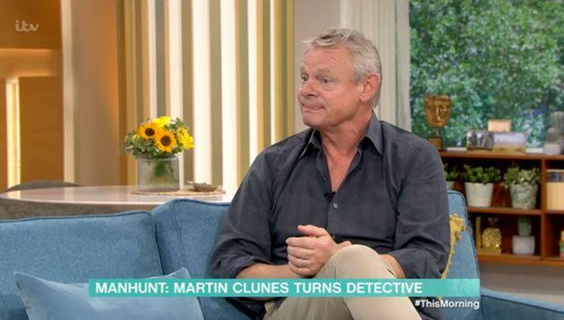 Martin Clunes on This Morning (Photo: ITV)