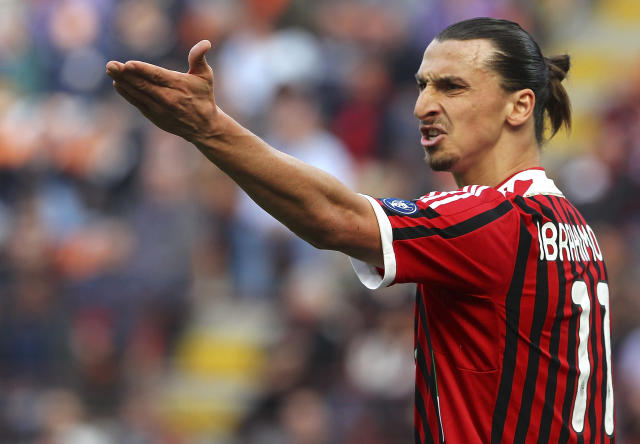 Zlatan Ibrahimovic (Photo by Marco Luzzani/Getty Images)