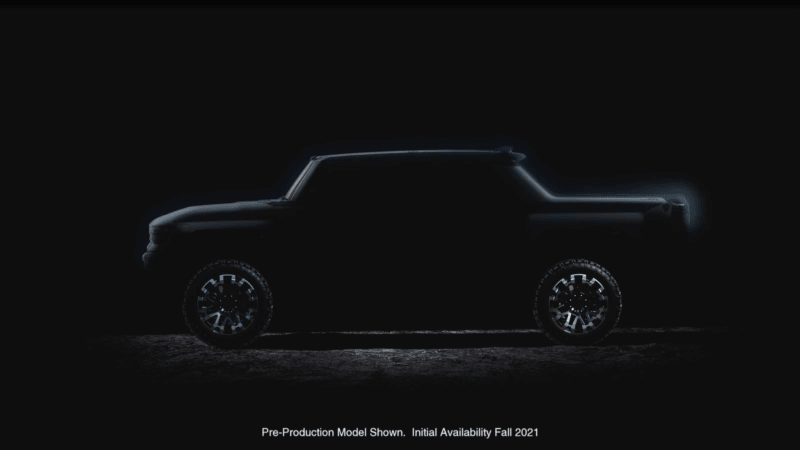 Gmc Hummer Pickup And Suv Previewed In Video Set To Be Revealed