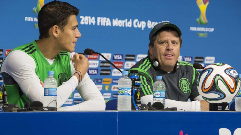 Mexico Training & Press Conference - 2014 FIFA World Cup | Miguel Tovar/Getty Images