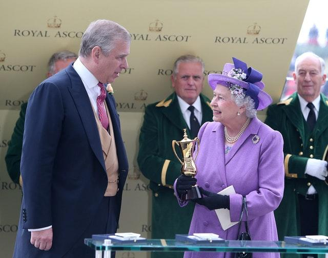 Andrew and the Queen