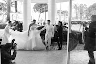 <p>Priyanka Chopra and Nick Jonas at the Martinez Hotel during the 72nd annual Cannes Film Festival on May 18, 2019.</p>