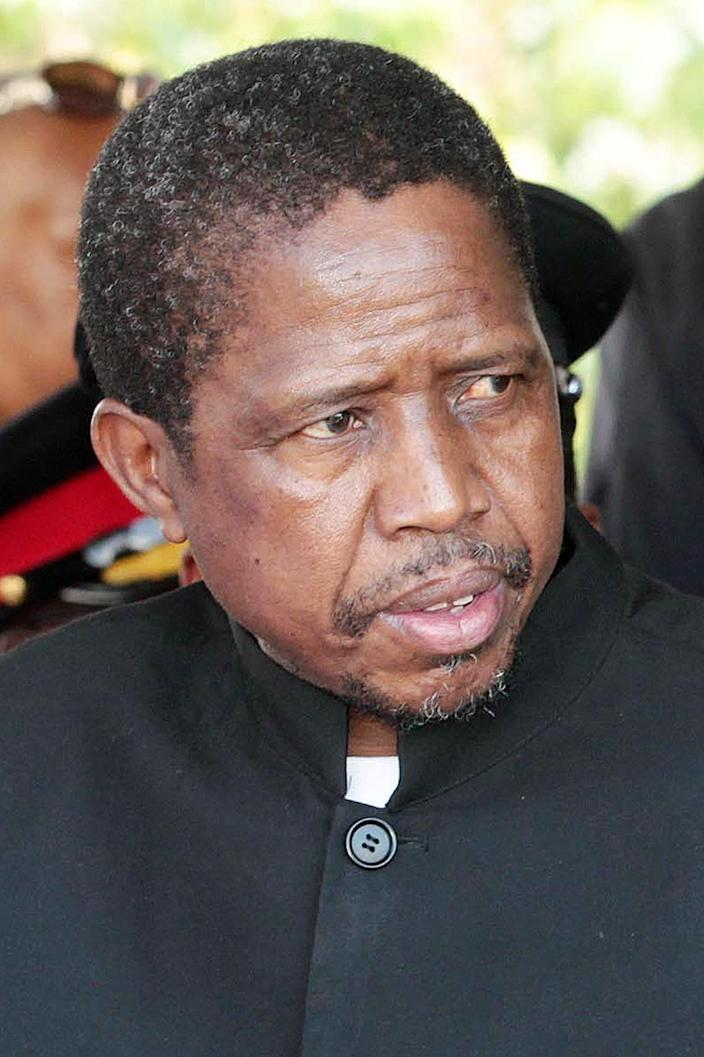 "Patriotic Front party's presidential election candidate, Edgar Lungu, says ""nothing is cast in stone"" on copper mining royalties (AFP Photo/Chibala Zulu)"