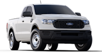 "<p><strong>Configuration: </strong>XL trim level, extended cab, 4x2</p><p>Due to some pricing and equipment changes among its competitors, the <a href=""https://www.caranddriver.com/ford/ranger"" rel=""nofollow noopener"" target=""_blank"" data-ylk=""slk:Ford Ranger"" class=""link rapid-noclick-resp"">Ford Ranger</a> has leapfrogged mid-size trucks from GMC, Nissan, and Chevy to become the second-cheapest truck on the market. The Ranger made a comeback recently, although owners of old Rangers will be surprised by the uptick in size. Fortunately, it still offers the familiarly humble models such as the XL extended-cab, which doesn't have any frills by today's standards. While Ford used to offer a $240 discount by selecting a rear-seat delete package, the removal of the jump seats is now a no-cost option, eliminating those potential savings.</p>"