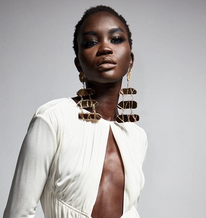 <p>Your earrings will be the center of attention with any one of these extremely large, hard-to-miss styles. </p><p><em>Tom Ford</em></p>