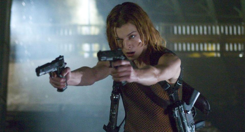 Milla Jovovich as Alice in Resident Evil: Apocalypse (2004) (Sony Pictures)