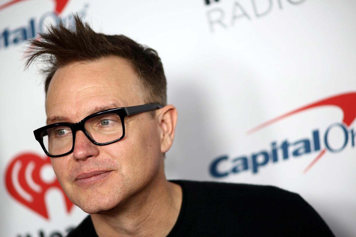 Mark Hoppus says chemotherapy is working amid his cancer battle.