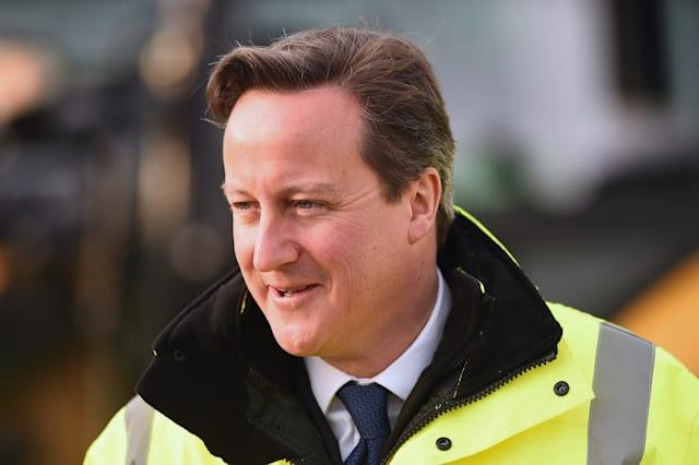 Prime Minister David Cameron Visits Scotland For The First Time Since The Scottish Referendum