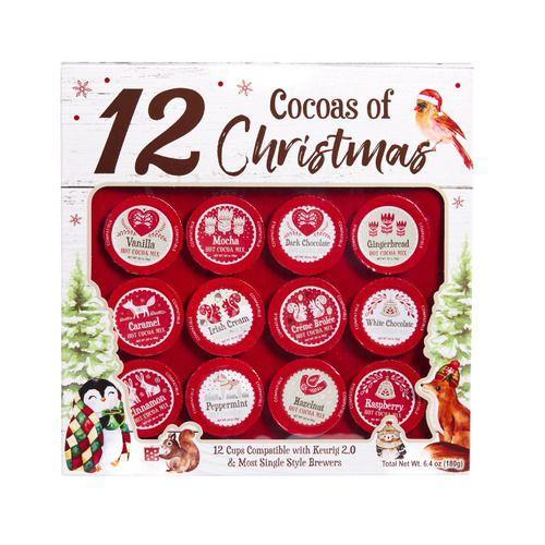 <p>If you're looking to keep things a bit more family-friendly than a beer advent, how about a little cocoa? Warm yourself up on the coldest winter nights with this variety pack. The single-serve cups work with Keurig or other single style brewers.</p>