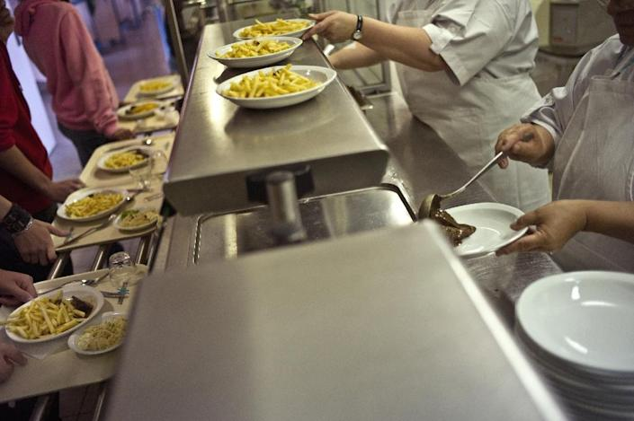 French schools have offered alternative non-pork meals since 1984 (AFP Photo/Jeff Pachoud)