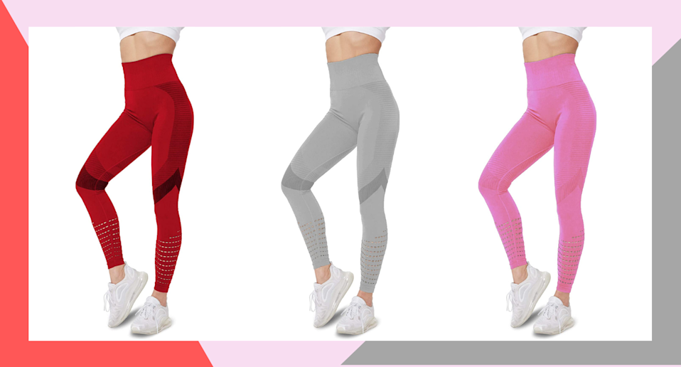 Sigeeya Women's High Waisted Leggings with Mesh are the new leggings taking over Amazon.