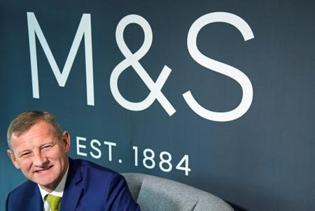 Rowe, CEO of Marks and Spencer, poses for a photograph at the company head office in London, Britain