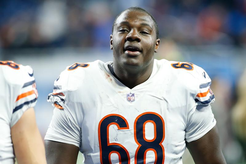 Chicago Bears center James Daniels is one of the key players back on offense in 2019 (Getty Images).