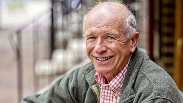 PHOTO: Tony Award winning playwright Terrence McNally in front of the Philadelphia Theater Company in Philadelphia, May 14, 2006. (H. Rumph Jr./AP, FILE)