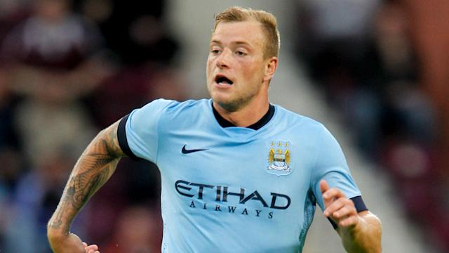 He only made one appearance for Manchester City, but John Guidetti is itching to get one over Manchester United in the Europa League.