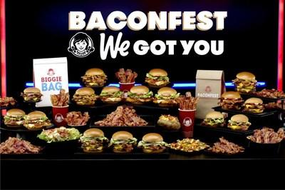 Wendy's reignites the bacon battles with Baconfest – a summer event jampacked with deals including a free Jr. Bacon Cheeseburger AND $0 delivery fee on DoorDash with $10 Wendy's purchase, and even free Baconator® Fries with any purchase using mobile order on Wendy's app, from July 16 – August 25. Don't forget, head to Twitch from July 17 – 18 to snag a code to redeem a free Baconator® on us.