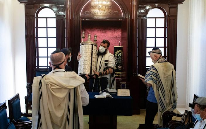 The only known synagogue in the Arabian Peninsula which is located in an unmarked villa in Dubai - Christopher Pike