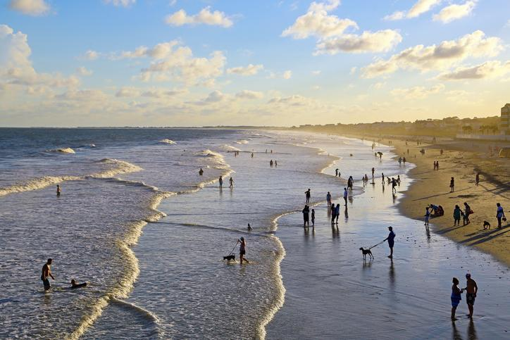 "<p>A short drive from Charleston, <a href=""https://www.follybeach.com/"" rel=""nofollow noopener"" target=""_blank"" data-ylk=""slk:Folly Beach"" class=""link rapid-noclick-resp"">Folly Beach</a> is a barrier island both near to city life and millions of miles away. Funky, free-spirited, and full of surfers, sun-seekers, and quirky souls, this is beach life in all its glory. Get your action fix at Center Beach and the Folly Pier, and then head to Folly Beach County Park, at the island's west end, for a true escape.</p>"
