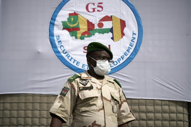 General Oumarou Namata Gazama, head of the G5 Sahel force. The five-nation scheme has encountered many problems, from funding and equipment to training and coordination (AFP Photo/MICHELE CATTANI)