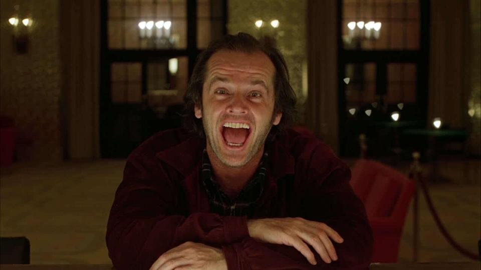 Jack Nicholson's jacket from 'The Shining' is expected to be one of the most sought-after items (credit: Warner Bros)