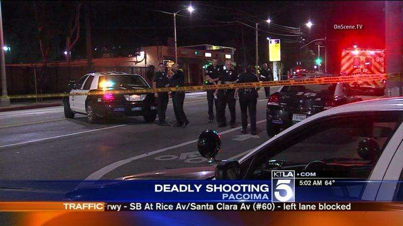 Young Man Fatally Shot in Pacoima