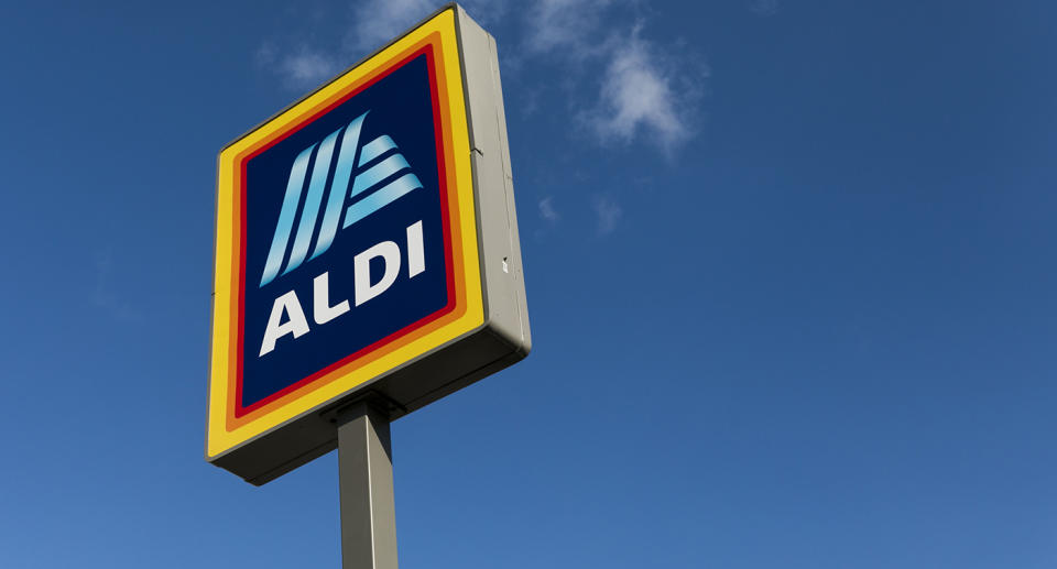 Aldi sign. Source: Getty Images