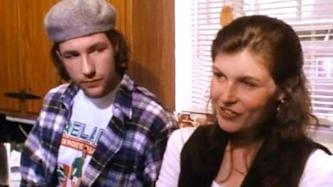 Connie Britton, right and Ed Burns in 1995's 'The Brothers McMullen'