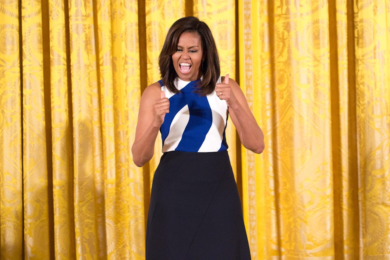 <p>Rank 2, First Lady of the United States from 2009 to 2017, Michelle Obama </p>