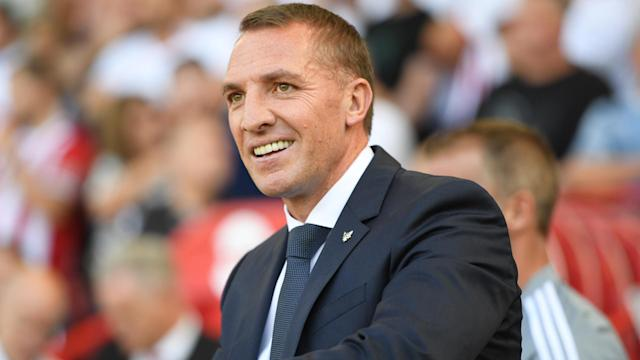 Arsenal's rumoured hopes of luring Brendan Rodgers away from Leicester City appeared to suffer a blow on Monday.