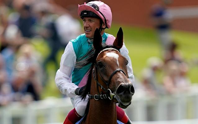 Frankie Dettori, 49, who enjoyed his best year, remains the sport's biggest box-office attraction - anywhere he goes in the world - Getty Images Europe