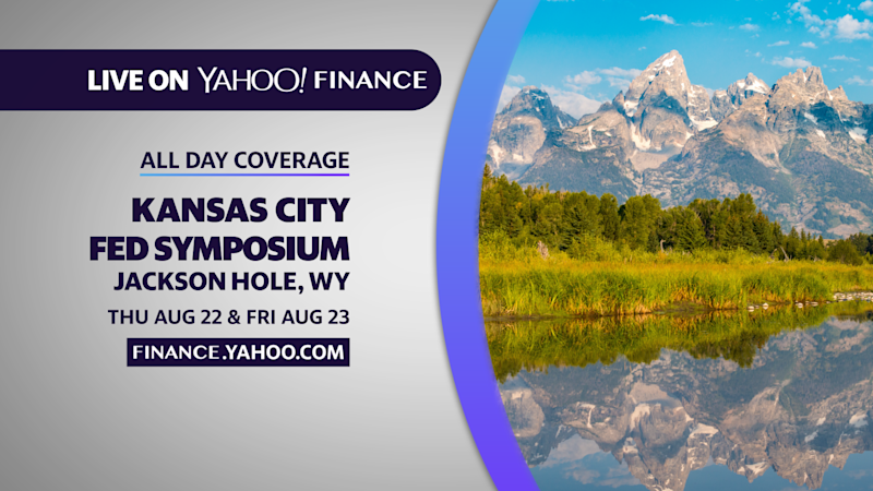 Yahoo Finance's live coverage of Jackson Hole conference