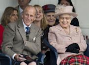 <p>They always had so much fun. Here they are at the annual Braemer Highland Games at The Princess Royal and Duke of Fife Memorial Park on September 7, 2013 in Braemar, Scotland.</p>
