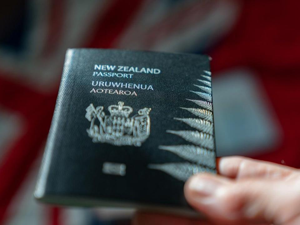 New Zealand passport (Getty Images/iStockphoto)