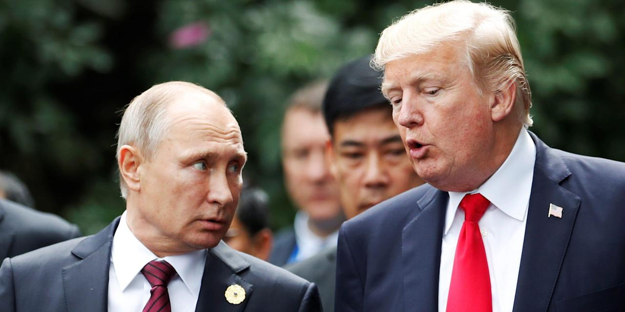 'What the hell were you thinking?': Trump berated White House staff for not telling him Putin was trying to call him