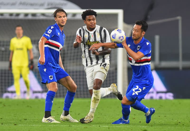 Juventus squad isolated after McKennie tests positive