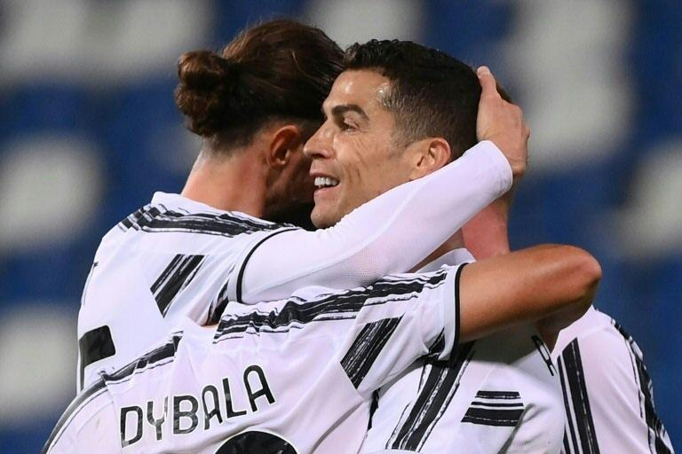 Cristiano Ronaldo and Paulo Dybala both scored their 100th goals for Juventus