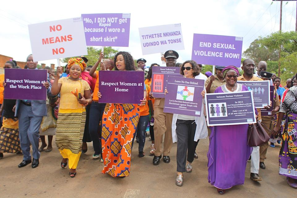 'Violence against women and girls has increased 83 per cent from 2019 to 2020, and cases reported to the police have grown by 64 per cent' (UN)