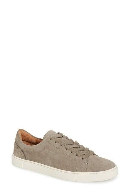 "<br><br><strong>Frye</strong> Ivy Sneaker, $, available at <a href=""https://go.skimresources.com/?id=30283X879131&url=https%3A%2F%2Fwww.nordstromrack.com%2Fshop%2Fproduct%2F2658446%2Ffrye-ivy-sneaker"" rel=""nofollow noopener"" target=""_blank"" data-ylk=""slk:Nordstrom Rack"" class=""link rapid-noclick-resp"">Nordstrom Rack</a>"