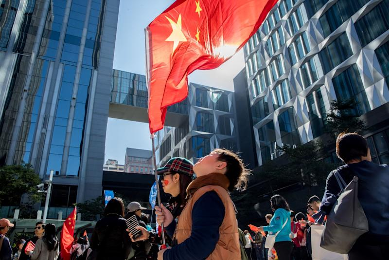 'Fangirls' Defend China From Hong Kong Protesters and the World