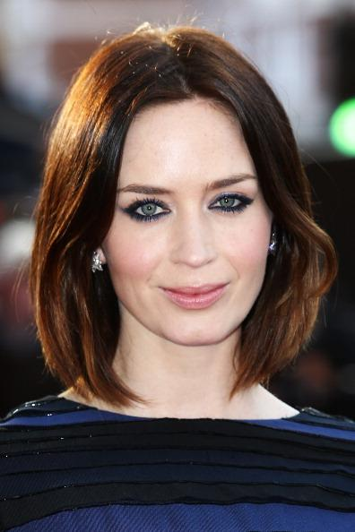 """LONDON, ENGLAND - APRIL 10:  Actress Emily Blunt attends the European premiere of """"Salmon Fishing in the Yemen"""" at ODEON Kensington on April 10, 2012 in London, England.  (Photo by Tim Whitby/Getty Images)"""