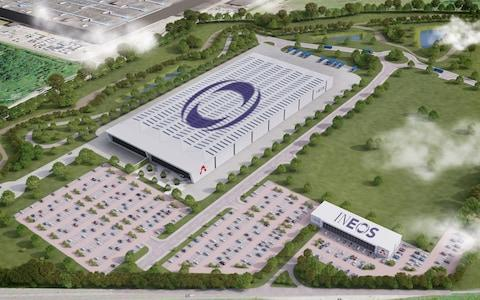 How Ineos's new factory in Bridgend will look - work has already begun on the site