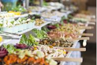 "<p>The golden rule still applies at weddings: Treat others the way you want to be treated. ""Be nice to everyone,"" says Berman and Bernard. ""It will be embarrassing if you cut in front of the groom's grandmother in the buffet line — and then find out she told other family members."" Yikes.</p>"