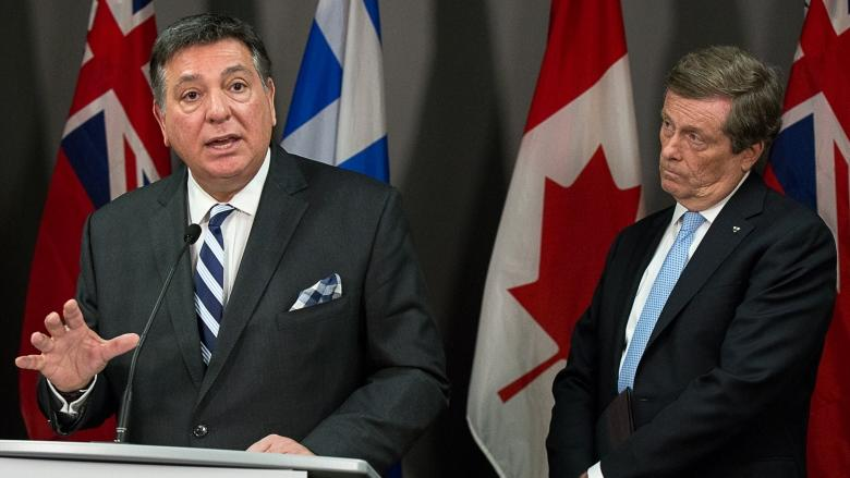 Mayor John Tory pushes province for land to build affordable housing