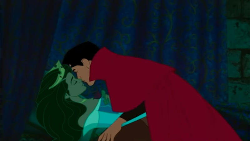 Sleeping Beauty animation changed to represent two Indian Americans