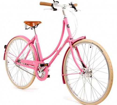 Pashley poppy bike in blush