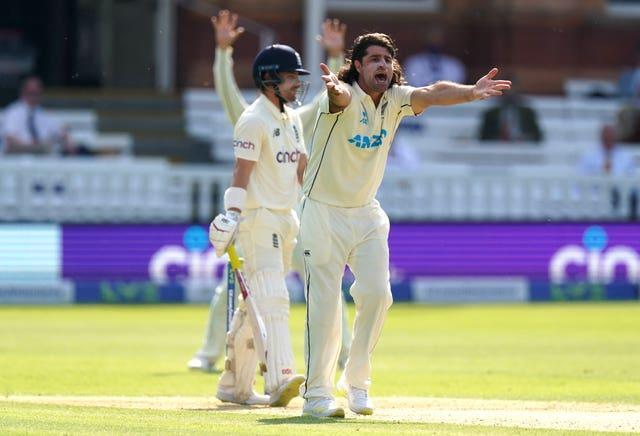De Grandhomme is not the quickest bowler but his nagging accuracy and discipline ensure he is a handful for many bowlers (Adam Davy/PA)