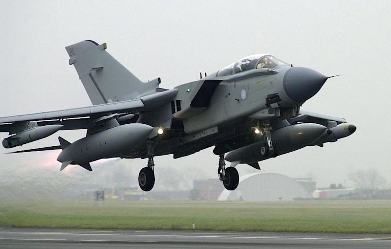 Britain launched air strikes against Islamic State targets inside Iraq in 2014 (AFP Photo/Martin Hayhow)